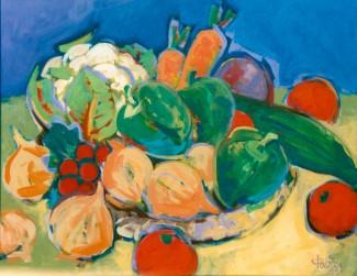 Stilleben mit  Gemüse