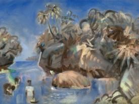 Muschelsammlerinnen (Ongea Inseln)