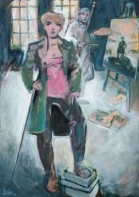 Caspar-David Friedrich malt den