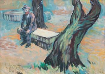 Vincent im Garten
