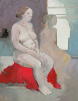 Aktstudie mit zwei Frauen