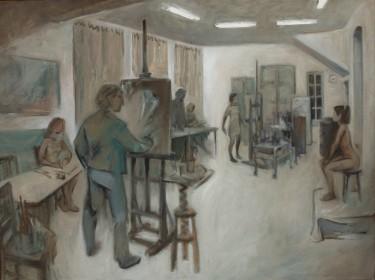 Malkurs im Atelier